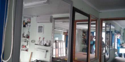 Настенное зеркало большого размера