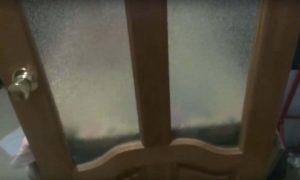 Дверные стекла узорчатые