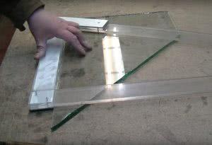 Как резать старое стекло