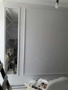Оформление спальни зеркалами