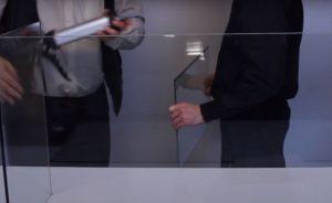 Склейка стекла со стеклом