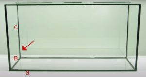 Склейка стекол аквариума